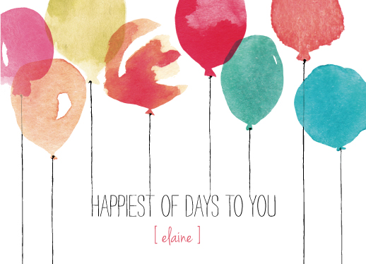 greeting card - happiest day by Kelly Ventura