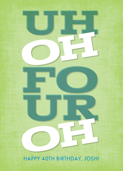 greeting cards - Uh Oh! by Loree Mayer