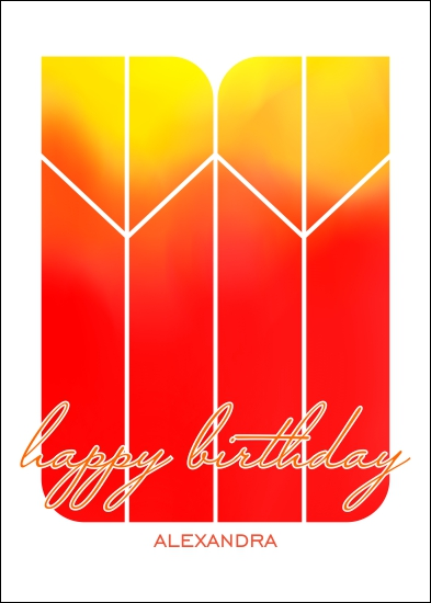 greeting card - Sunrise wishes by Tomi Ann Hill