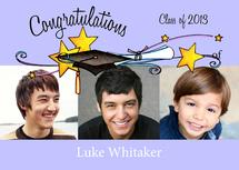 Cap with Stars Graduati... by Olivia A Kneibler