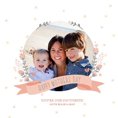 greeting card - Our Favourite Mum by Jordan Bariesheff