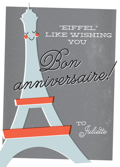 Happy birthday wishes and birthday quotes picture to wish happy - Greeting Card Happy Birthday From France At Minted Com
