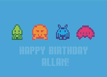 Pixel Birthday