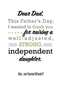 Independent Daughter