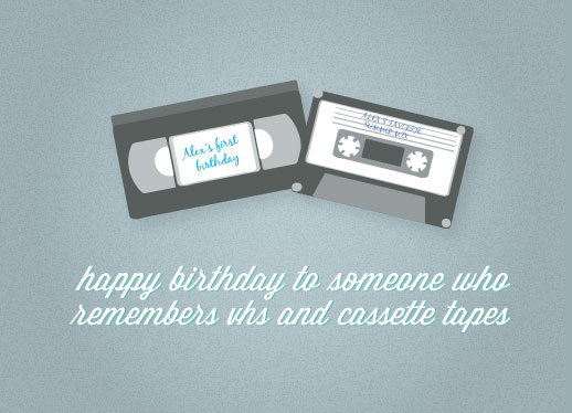 greeting card - Retro Birthday Card by Bright Room Studio