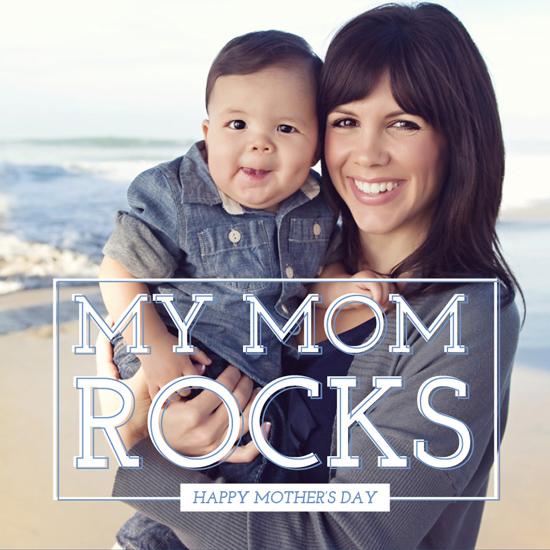 greeting cards - My Mom Rocks by Vanessa Wyler