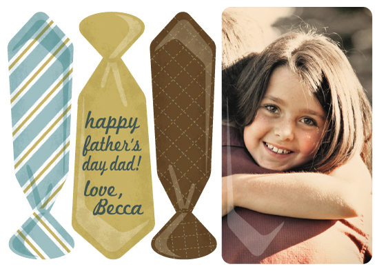 greeting card - Another Tie for Dad by Sparkmymind Designs
