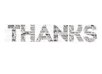 Thanks - Layered Words