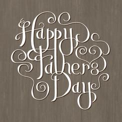 Handlettered Happy Father's Day