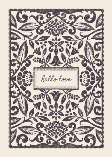 greeting cards - Hello Love by Faiths Designs