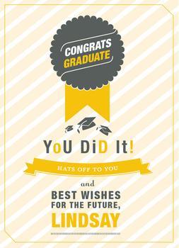 Celebrate, Graduate!