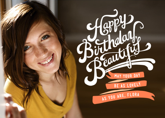 greeting card - Happy Birthday, Beautiful by Betty Hatchett