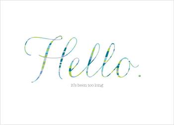 hi hello greeting