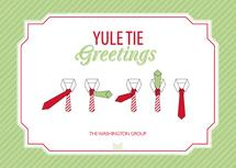 Yule Tie Greetings by Amy Conover