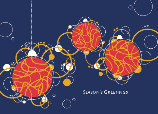 business holiday cards - Season's Greetings! by Danikqwa