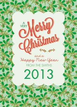 Mid-Century Christmas Greetings