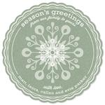 Sweet Snowflake Greetin... by sg designs