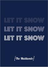Let It Snow Fade by Hillegien