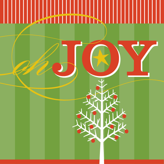 non-photo holiday cards - Oh Joy by Social Grace