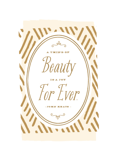 art prints - Beauty For Ever by Sarah Curry