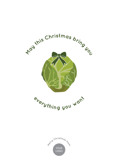 business holiday cards - Want Sprouts? by Mark Wilson
