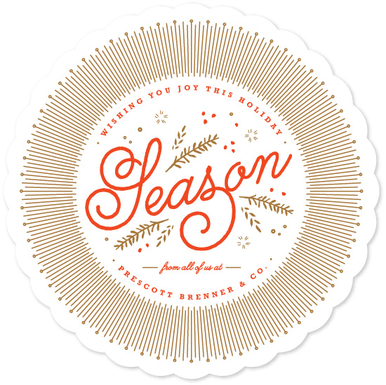 business holiday cards - Warmly Wished by Kristie Kern