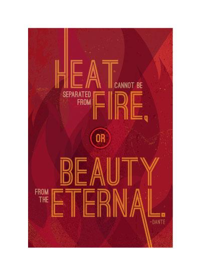 art prints - Beauty on Fire by Nee