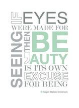 Eyes of Beauty Letter B... by Lilian Wanandy-Perez