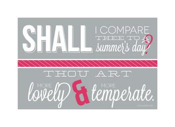 Pink Summer Shakespeare