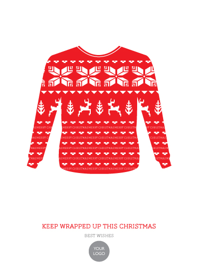 business holiday cards - The Jumper by Mark Wilson