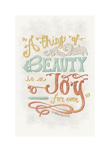art prints - Beauty is a Joy by Jayme Sloan Hennel
