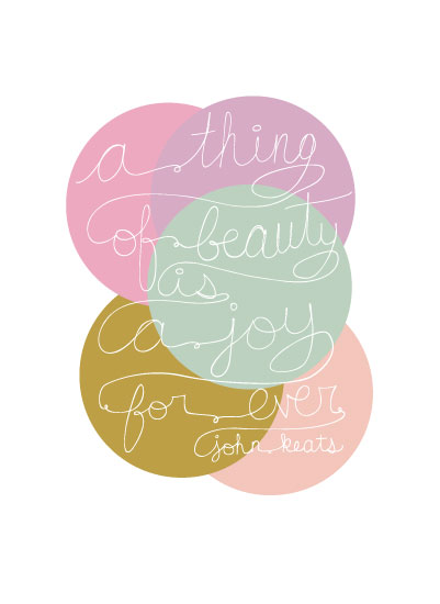 art prints - Hand Drawn Beauty Bubbles by Katie Vaz