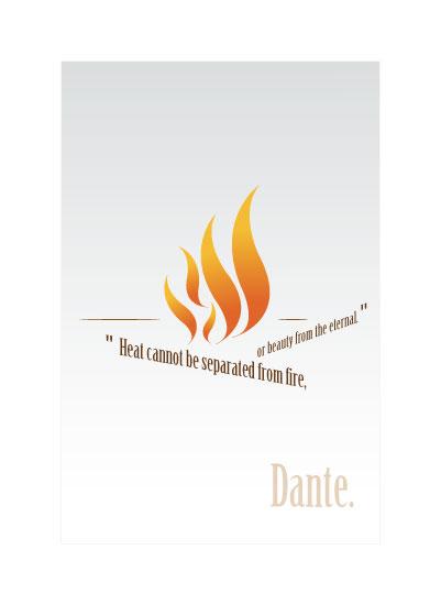art prints - Dante's fire camp by Benedicte Liberas