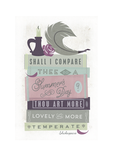 art prints - The Complete Works of William Shakespeare by Lori Wemple
