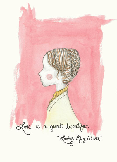 art prints - Blush of Love by Lisa Chow