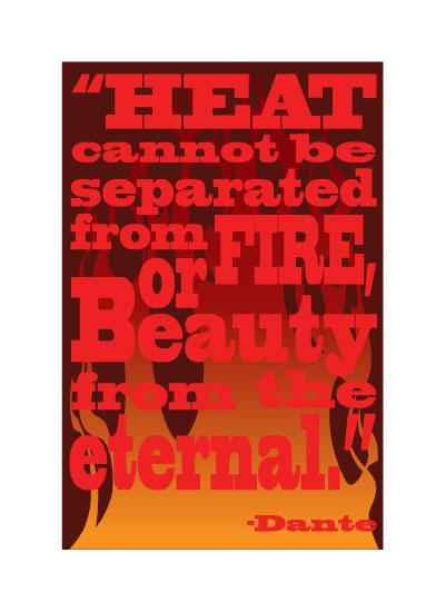 art prints - Dante Fire by TeeEm