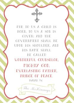 A Child is Born Isaiah 9:6