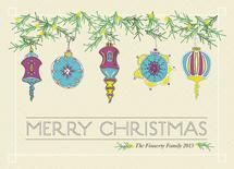 Vintage Christmas Baubl... by Ellen Morse