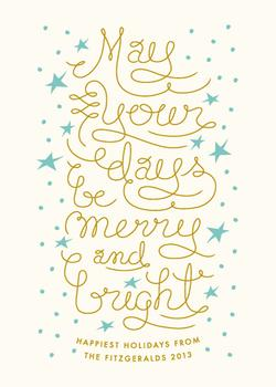 Whimsically Merry And Bright