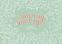 Merry Merry Holly by Paper Lovely