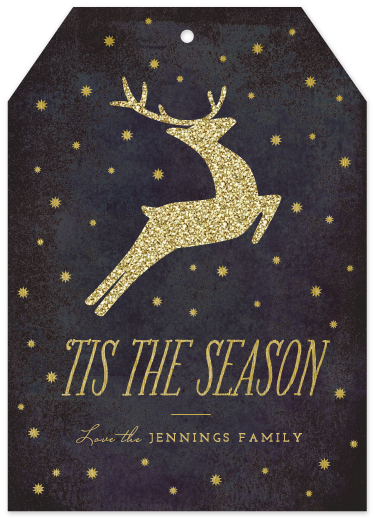 non-photo holiday cards - All That Glitters by Griffinbell Paper Co.