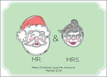 Mr and Mrs Claus by Melodi Bowser