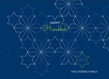 Abstract Hanukkah by Amy Conover