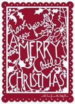 Merry Little Cutout by Meegan Neeb