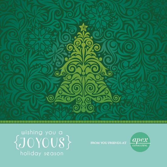 business holiday cards - Ever Joyous by Sara Batman