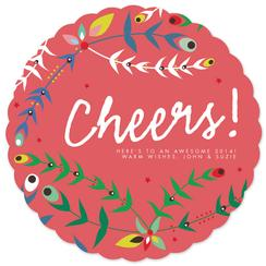 Festive Floral Cheers!