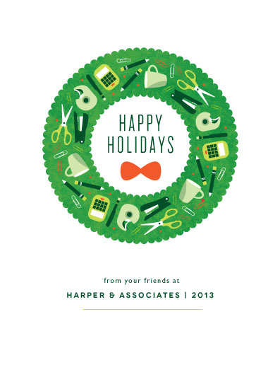business holiday cards - All The Trimmings by Kristen Smith