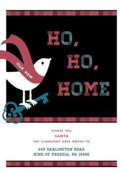 Ho, Ho, Our New Home