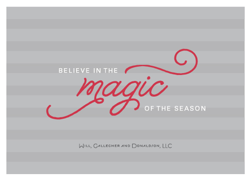 business holiday cards - Full of Magic by sweet street gals