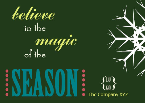 business holiday cards - Magic in the Making by Ashley McCord